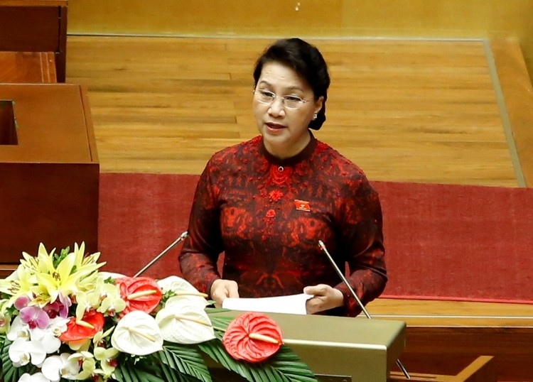 TOÀN CẢNH: Khai mạc kỳ họp thứ 3, Quốc hội khóa XIV ảnh 4