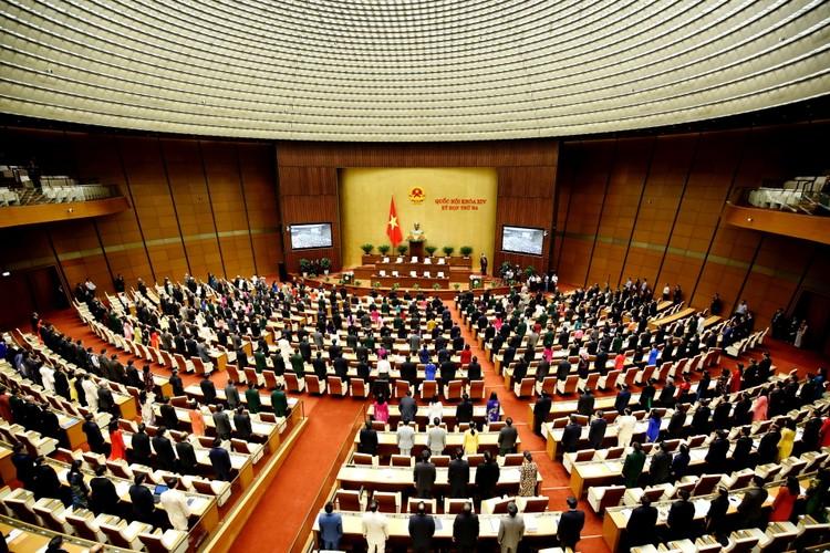 Hoạt động lập pháp là nội dung trọng tâm của kỳ họp thứ 3, Quốc hội khóa XIV ảnh 1