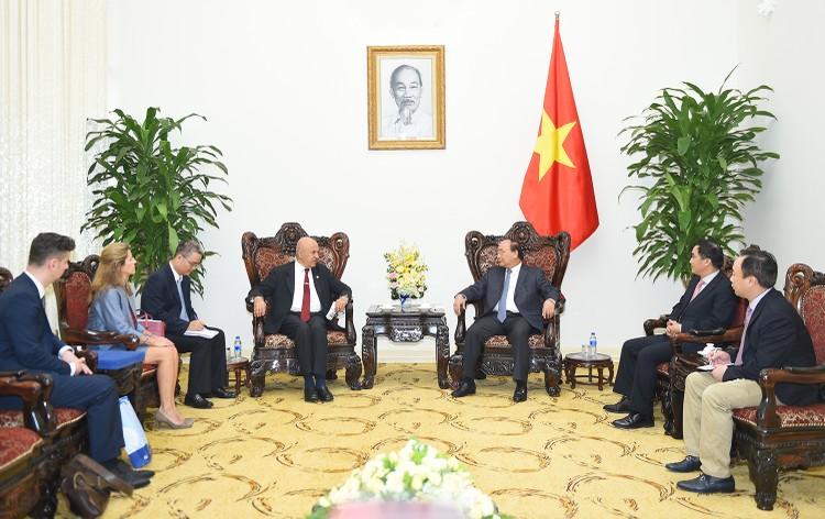 Thủ tướng Nguyễn Xuân Phúc tiếp Tổng giám đốc OFID ảnh 1