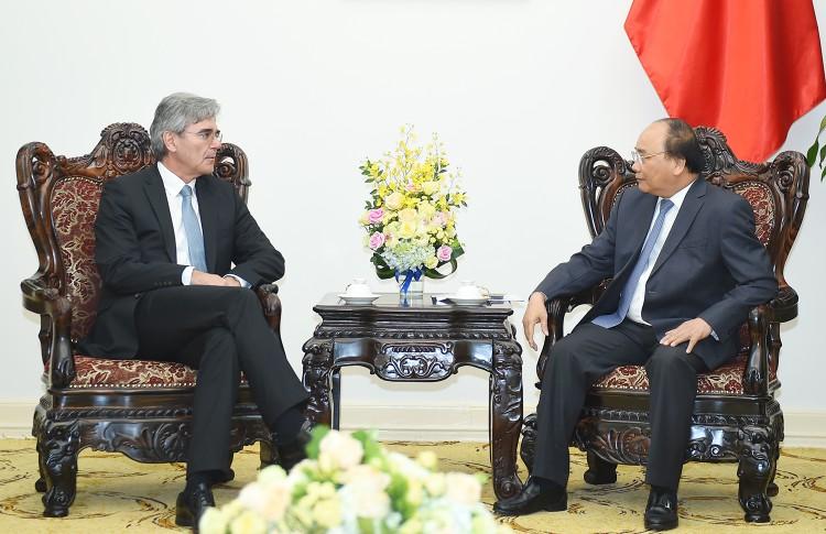 Thủ tướng Nguyễn Xuân Phúc tiếp Tổng Giám đốc Tập đoàn Siemens ảnh 1