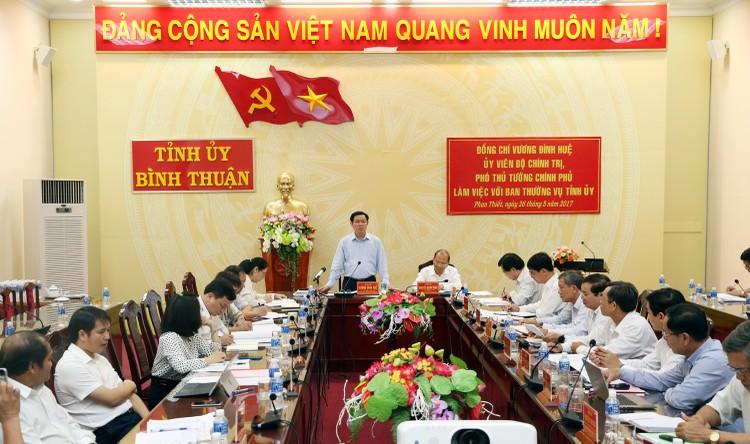 Bộ Chính trị kiểm tra công tác cán bộ tại Bình Thuận ảnh 1