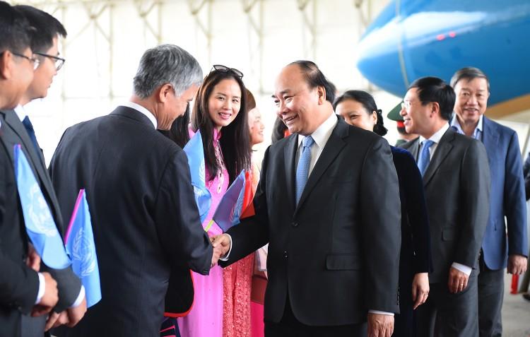 Thủ tướng đến New York bắt đầu chuyến thăm Hoa Kỳ ảnh 1