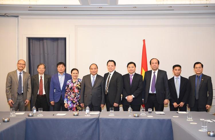 Thủ tướng tiếp một số doanh nhân, trí thức gốc Việt tại Hoa Kỳ ảnh 1