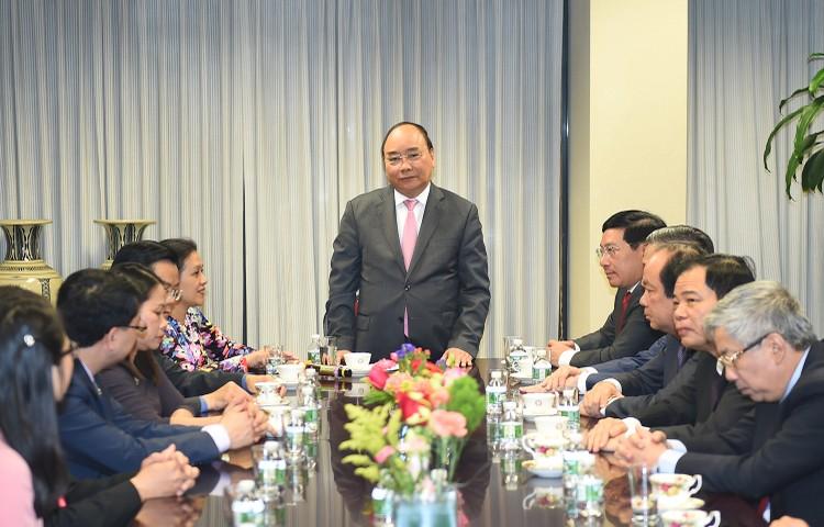 Thủ tướng thăm Phái đoàn Thường trực Việt Nam tại Liên Hợp Quốc ảnh 1