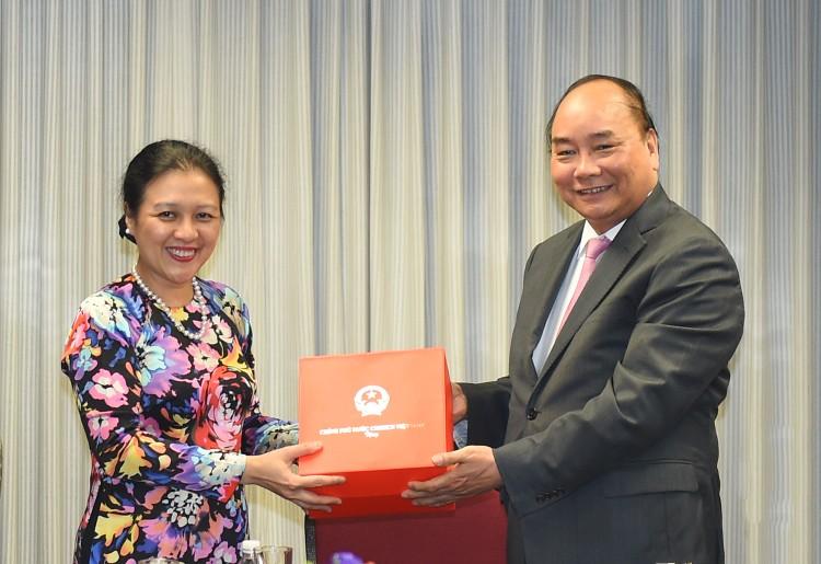 Thủ tướng thăm Phái đoàn Thường trực Việt Nam tại Liên Hợp Quốc ảnh 2