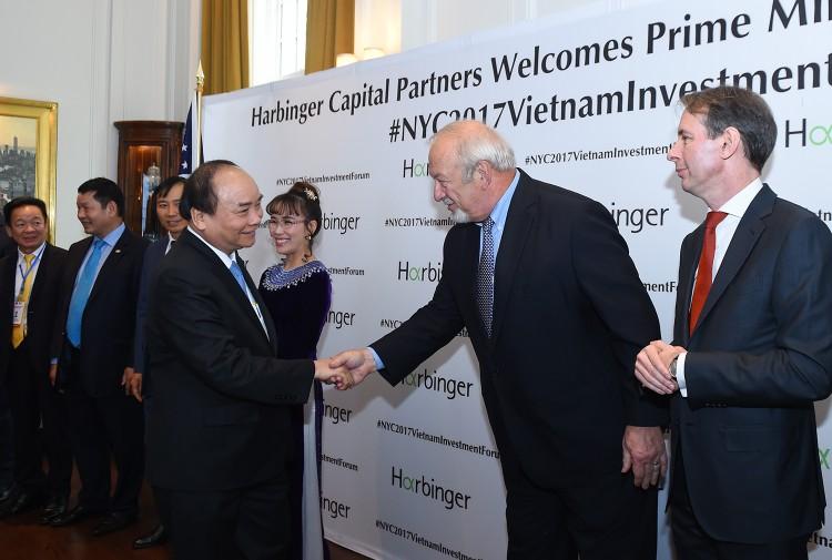 Chùm ảnh: Thủ tướng dự tọa đàm, tiếp lãnh đạo các tập đoàn Hoa Kỳ ảnh 1