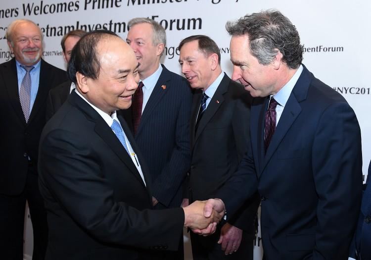 Chùm ảnh: Thủ tướng dự tọa đàm, tiếp lãnh đạo các tập đoàn Hoa Kỳ ảnh 2