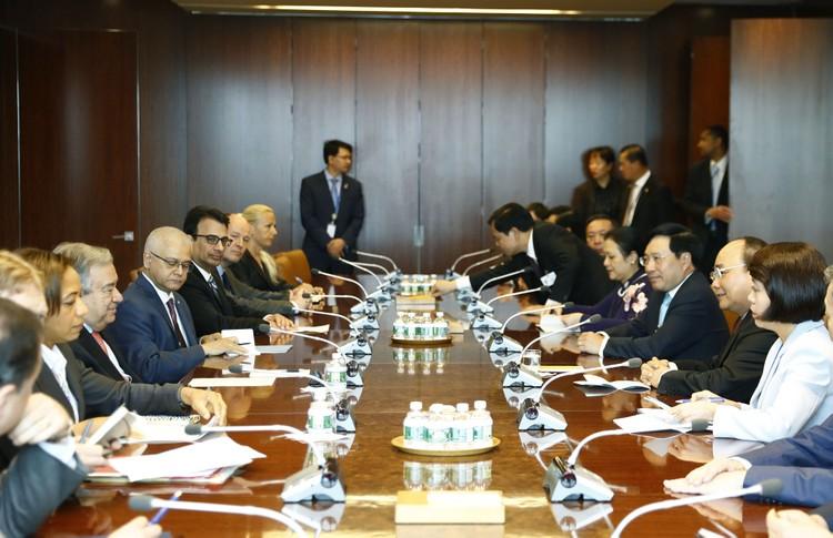 Thủ tướng thăm, làm việc tại Trụ sở Liên Hợp Quốc ảnh 1