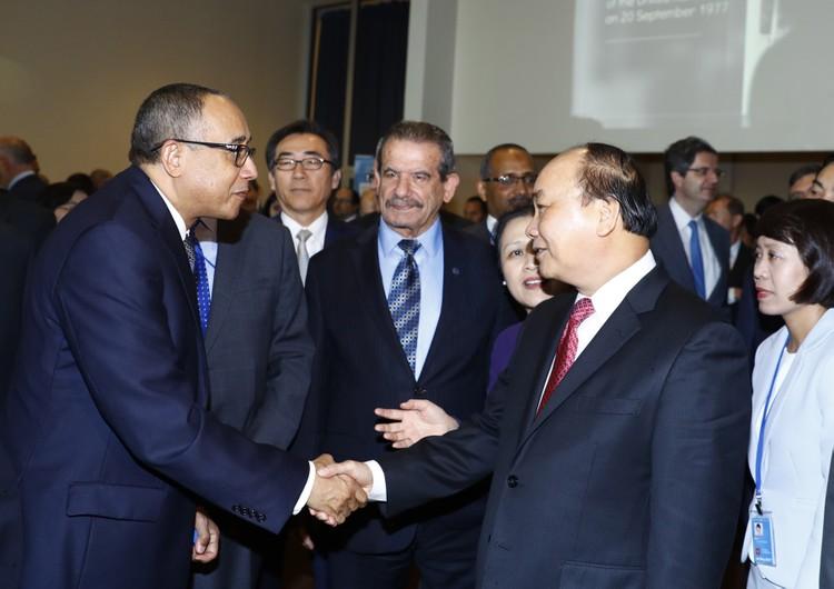 Thủ tướng thăm, làm việc tại Trụ sở Liên Hợp Quốc ảnh 3