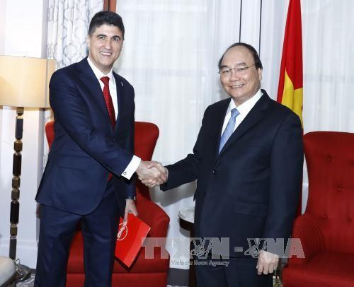 Hoạt động nổi bật của Thủ tướng Nguyễn Xuân Phúc trong ngày thứ hai tại Hoa Kỳ ảnh 1
