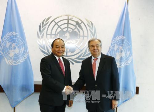 Hoạt động nổi bật của Thủ tướng Nguyễn Xuân Phúc trong ngày thứ hai tại Hoa Kỳ ảnh 2