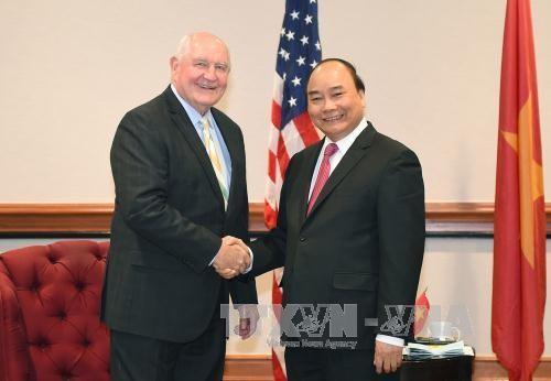 Hoạt động nổi bật của Thủ tướng Nguyễn Xuân Phúc trong ngày thứ hai tại Hoa Kỳ ảnh 5