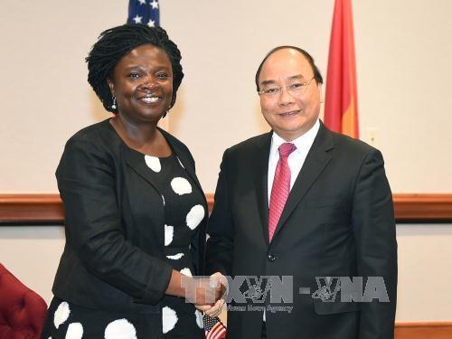 Hoạt động nổi bật của Thủ tướng Nguyễn Xuân Phúc trong ngày thứ hai tại Hoa Kỳ ảnh 6