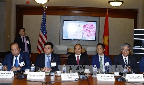 Hoạt động nổi bật của Thủ tướng Nguyễn Xuân Phúc trong ngày thứ hai tại Hoa Kỳ ảnh 7