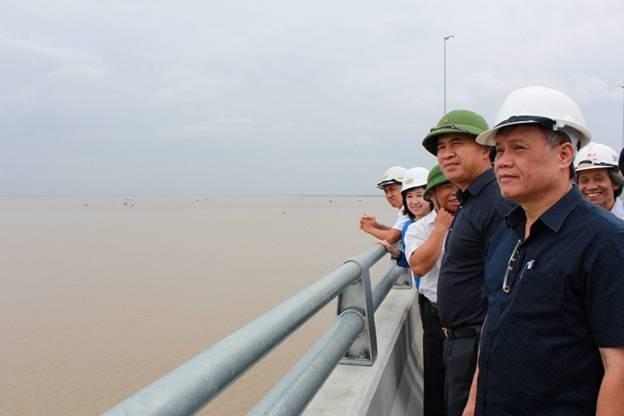 Kiểm tra đánh giá 13km đường ô tô Tân Vũ – Lạch Huyện ảnh 1