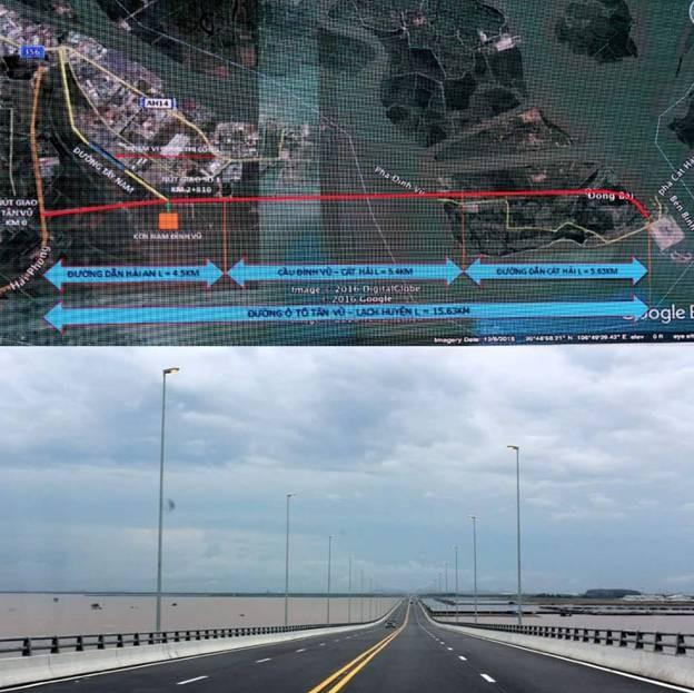 Kiểm tra đánh giá 13km đường ô tô Tân Vũ – Lạch Huyện ảnh 2