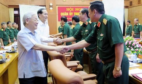Quân ủy Trung ương triển khai nhiệm vụ quân sự, quốc phòng ảnh 1
