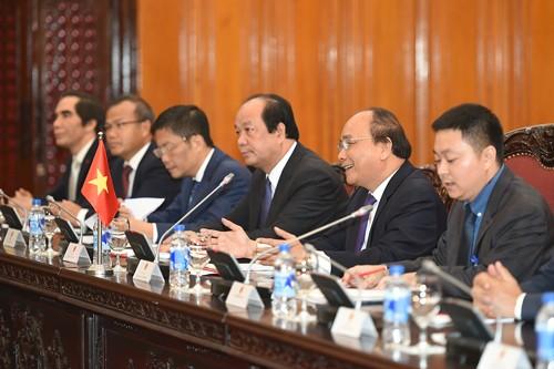 Thủ tướng Nguyễn Xuân Phúc tiếp Tổng thống Ai Cập ảnh 2