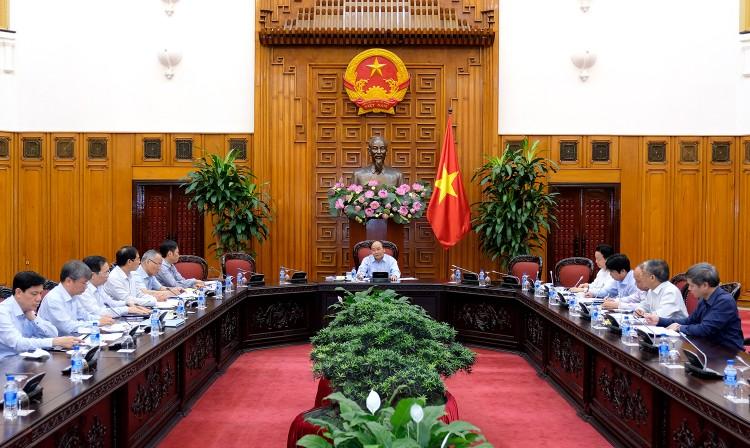 Thủ tướng chủ trì cuộc họp về hợp tác thương mại Việt Nam-EU ảnh 1