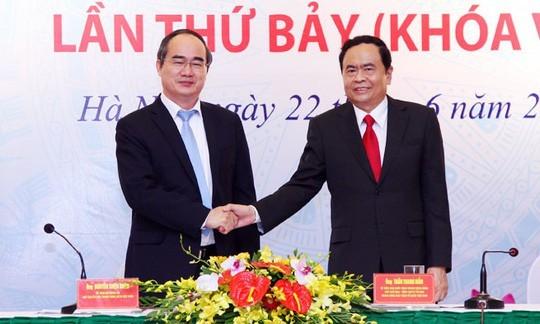 Ông Trần Cẩm Tú được bầu làm Chủ nhiệm UB Kiểm tra Trung ương ảnh 1