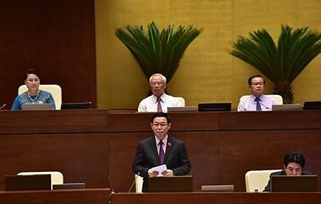 Phó Thủ tướng Vương Đình Huệ trả lời chất vấn ảnh 1