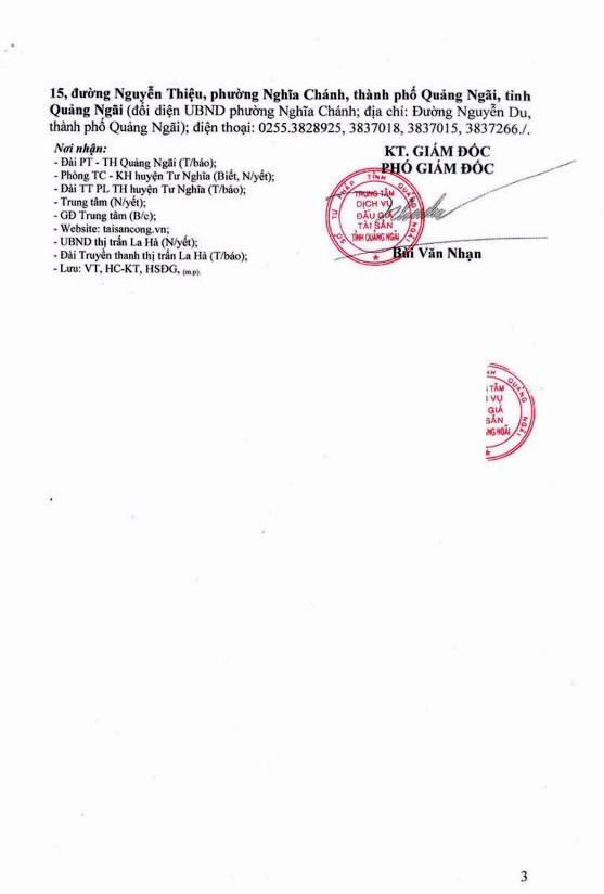 Ngày 27/9/2018, đấu giá quyền sử dụng 8 lô đất tại huyện Minh Long, Quảng Ngãi ảnh 3