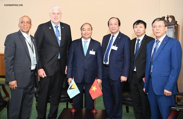 Chùm ảnh: Hoạt động của Thủ tướng Nguyễn Xuân Phúc tại LHQ ảnh 10