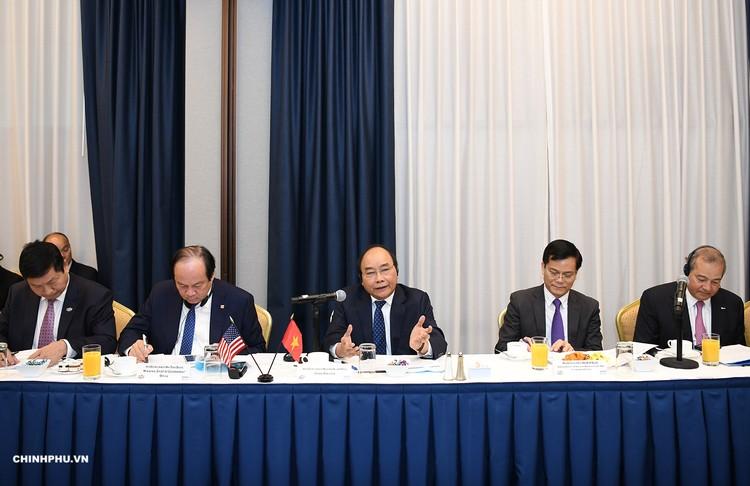 Chùm ảnh: Hoạt động của Thủ tướng Nguyễn Xuân Phúc tại LHQ ảnh 5