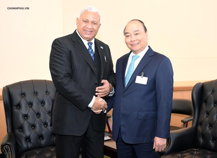 Chùm ảnh: Hoạt động của Thủ tướng Nguyễn Xuân Phúc tại LHQ ảnh 9