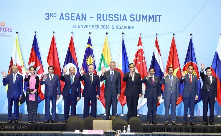 ASEAN - Nga nâng tầm quan hệ lên Đối tác chiến lược ảnh 1