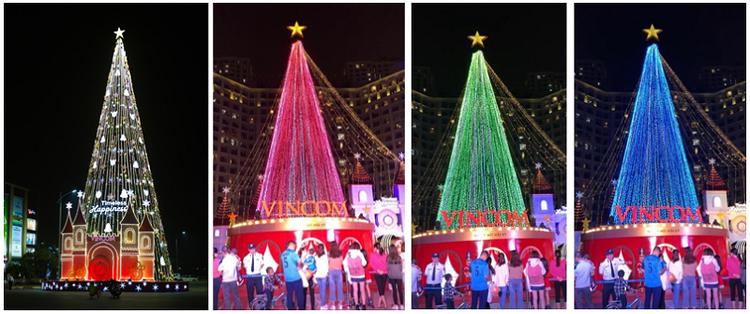 61 trung tâm thương mại Vincom rực rỡ đón Giáng sinh sớm ảnh 1