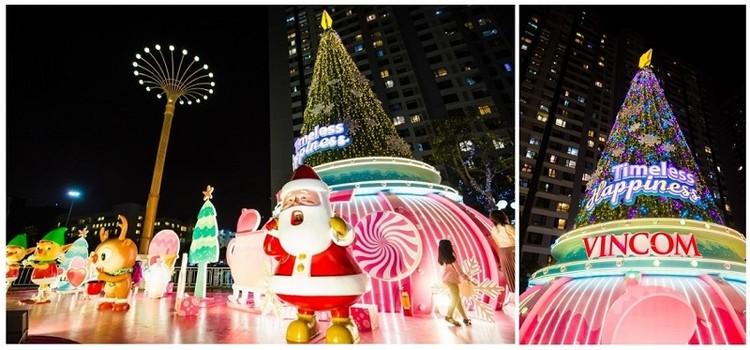 61 trung tâm thương mại Vincom rực rỡ đón Giáng sinh sớm ảnh 2