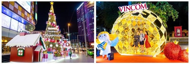 61 trung tâm thương mại Vincom rực rỡ đón Giáng sinh sớm ảnh 3