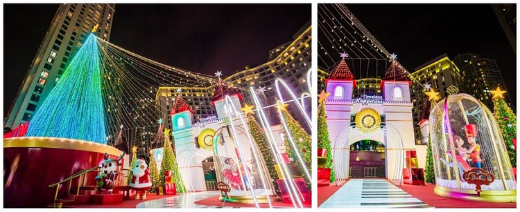61 trung tâm thương mại Vincom rực rỡ đón Giáng sinh sớm ảnh 4