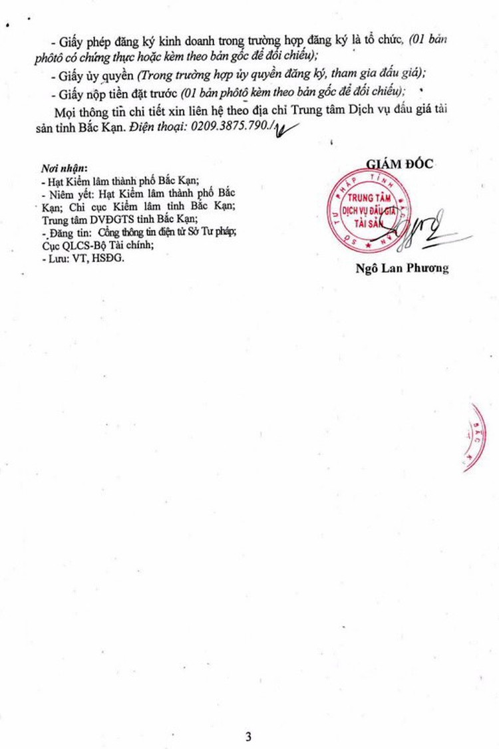 Ngày 17/12/2018, đấu giá gỗ tròn, xẻ tại tỉnh Bắc Kạn ảnh 3