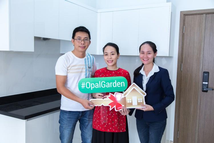 Đất Xanh bàn giao nhà đúng cam kết cho khách hàng sở hữu căn hộ Opal Garden ảnh 3