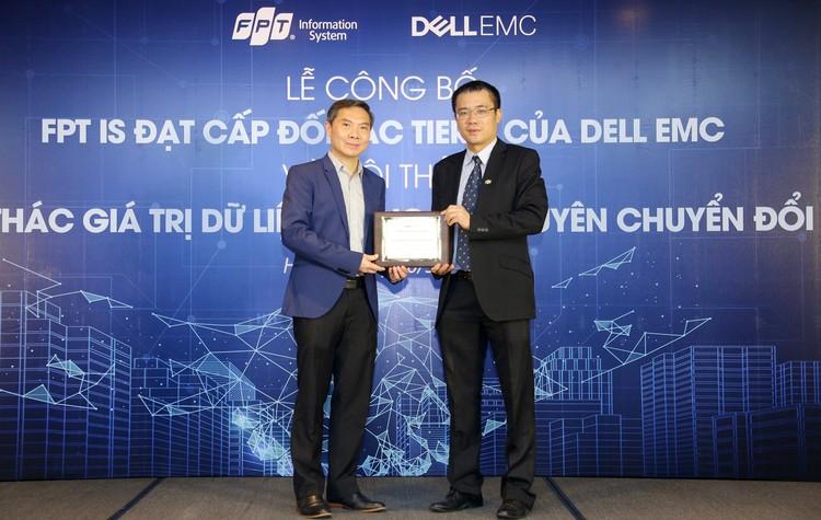 FPT IS trở thành đối tác cao cấp nhất của Dell EMC ảnh 1