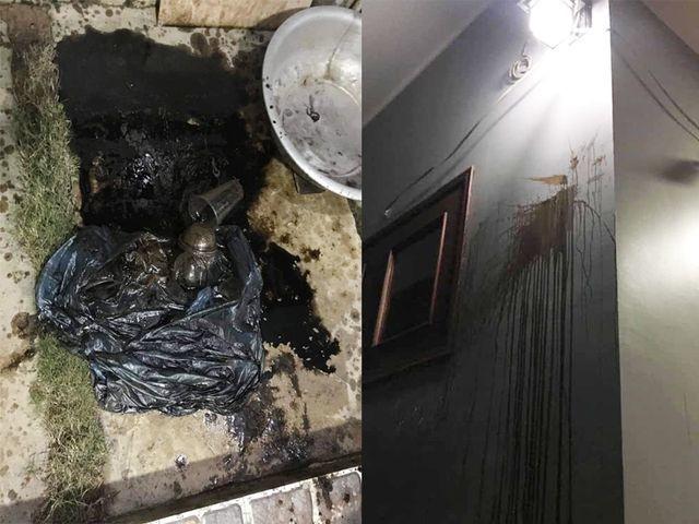 """Hà Tĩnh: Giám đốc Công an tỉnh chỉ đạo điều tra vụ ném """"bom bẩn"""" vào nhà phóng viên ảnh 1"""