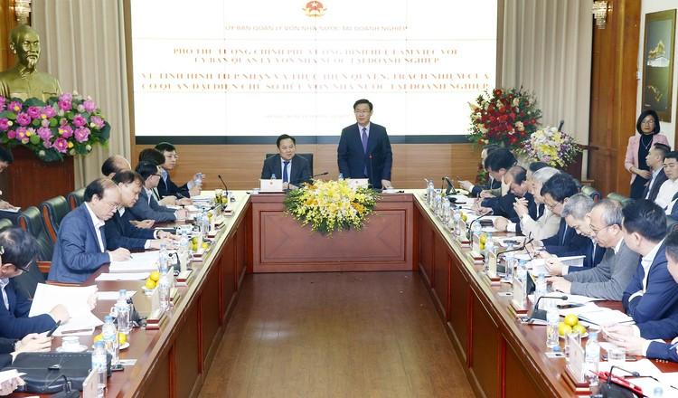 Phó Thủ tướng: Chức năng của Ủy ban không phải là kinh doanh vốn ảnh 1