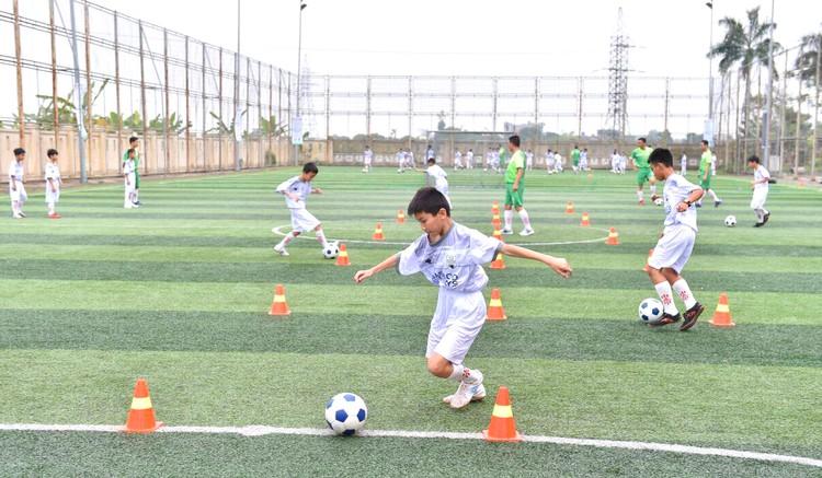 CLB đào tạo bóng đá trẻ Bamboo Airways Thái Bình ra mắt: Hiện thực hoá kì vọng về một nền bóng đá chuyên nghiệp ảnh 2