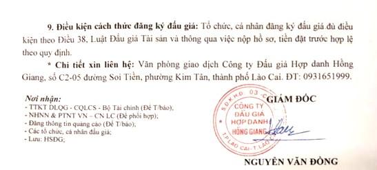 Ngày 10/4/2019, đấu giá lô xe ô tô tải, đầu kéo, rơ mooc và lô máy móc thiết bị tại tỉnh Lào Cai ảnh 2