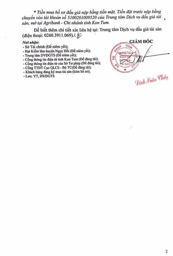Ngày 25/4/2019, đấu giá 101,283 m3 gỗ xẻ tại tỉnh Kon Tum ảnh 2