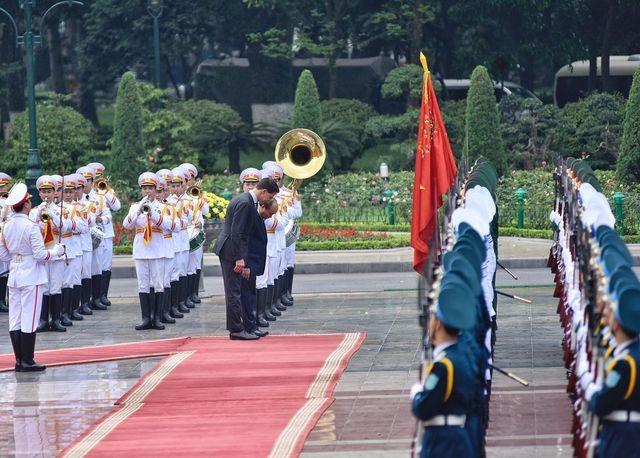 Thủ tướng Nguyễn Xuân Phúc chủ trì lễ đón chính thức Thủ tướng Hà Lan ảnh 3