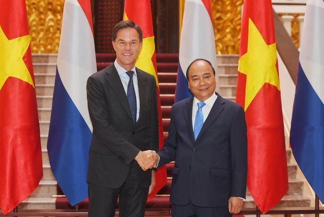 Thủ tướng Nguyễn Xuân Phúc chủ trì lễ đón chính thức Thủ tướng Hà Lan ảnh 6