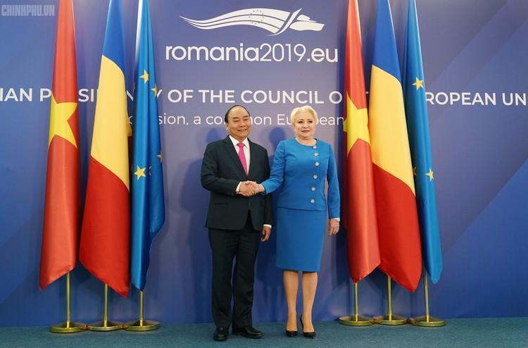 Thủ tướng Việt Nam, Romania hội đàm ảnh 1