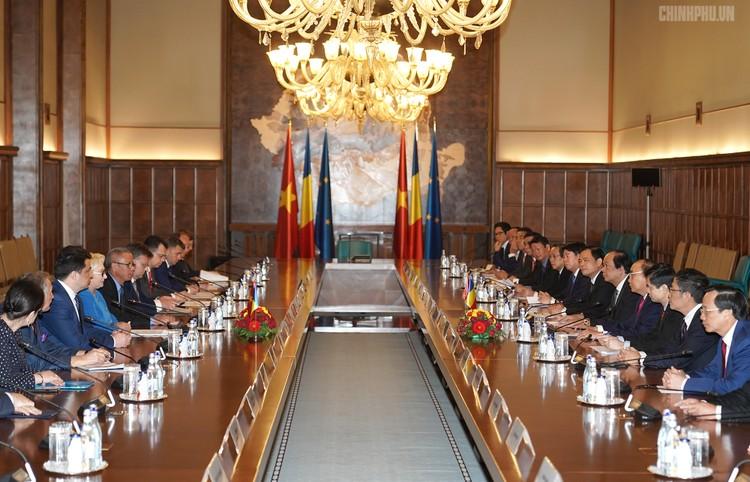Thủ tướng Việt Nam, Romania hội đàm ảnh 2
