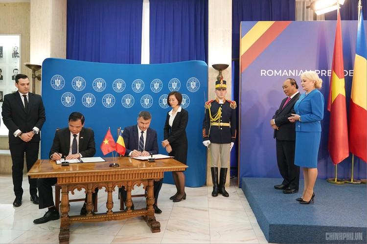 Thủ tướng Việt Nam, Romania hội đàm ảnh 5