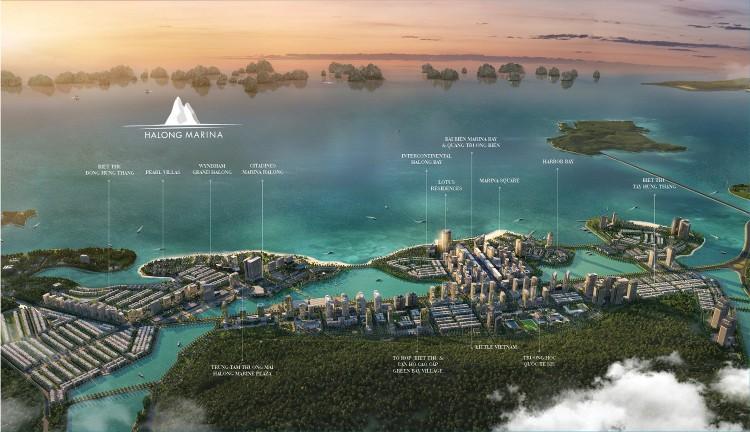 Hạ Long đang hình thành khu đô thị du lịch đẳng cấp khu vực ảnh 1