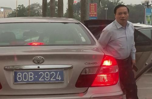 Thu hồi hai biển số dùng chung cho một xe công ở Ninh Bình ảnh 1