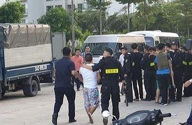Quảng Ninh: Bắt giữ 22 đối tượng người Trung Quốc nghi liên quan đến hoạt động tội phạm công nghệ cao ảnh 1